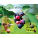 Food-United 100g Heidelbeere & 100g Felsenbirne Set Getrocknet Premium Qualität