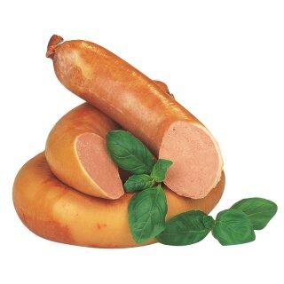 Food-United Streichwurst 500g fein im Ring geraucht