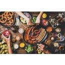 Food-United Jägerkranzl im Ring 700g geraucht mit ganzen grünen Pfefferkörnern