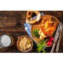 Food-United Grill-Vlieshaxe 3 KG (4 Stk.) vorgekocht mit Nitritpökelsalz & Gewürzen