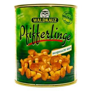 Food-United Pfifferlinge klein Speise-Pilz 1 Dose 800g ATG 455g
