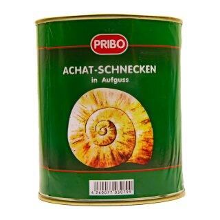 Food-United Achaat-Schnecken 186 Stück 1 Dose Füllmenge 800g ATG 455g,