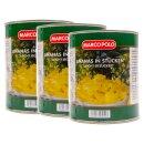 Food-United Ananas in Stücken leicht gezuckert 1 Dose Füll 825g ATG 490g