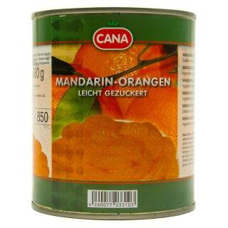 Food-United Mandarin-Orangen geschält kernlos 1 Dose Füllm 800g ATG 480g
