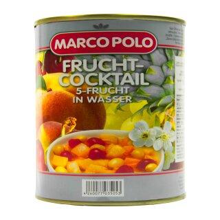 Food-United 5-Frucht-Cocktail in Wasser 1 Dose Füllmenge 820g ATG 500g