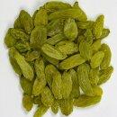 Food-United afghanische grüne Rosinen 300g im Schatten getrocknet