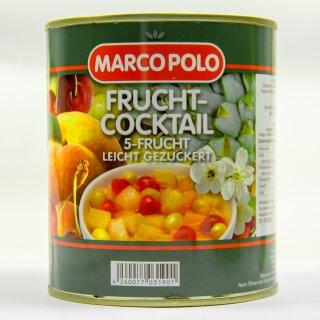 Food-United 5-Frucht-Cocktail leicht gezuckert 1 Dose Füllmenge 820g ATG 500g