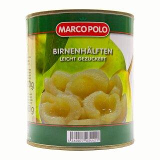 Food-United Birnenhälften halbe Frucht 1 Dose Füllm 820g ATG 460g