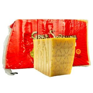 Food-United GRANA PADANO 1 KG formaggio-italiano-Hartkäse DOP Parmesan