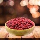 Food-United HIMBEEEREN GEFRIERGETROCKNET 100g für Müsli Muffins Tee