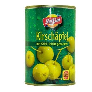 Food-United KIRSCH-APFEL-ÄPFEL mit Stiel 1 Dose Füllm 425g ATG 213g