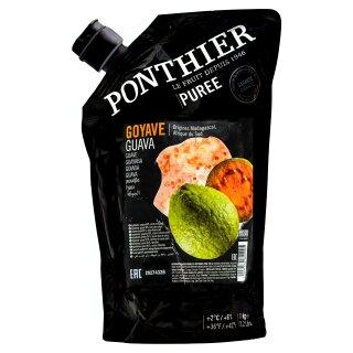 Food-United GUAVE FRUCHT-PÜREE Ponthier 1KG für Zitrus Smoothies Müsli uvm.