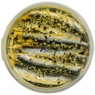 Food-United Fisch – SARDELLENFILETS mit KNOBLAUCH & PETERSILIE 280g
