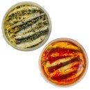 Food-United Fisch-Set – SARDELLEN-FILETS - 2 x 280g - Knoblauch & Rote-Chili