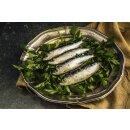 Food-United Fisch - SARDINEN MARINIERT 3 CHILISORTEN 4x 115g Portugal Frankreich
